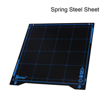 BIQU SSS Super Spring Steel Sheet Heated Bed Build Plate Platform 235x235MM Printer Parts For filament Ender 3 3 printer new 2pcs 3d printer platform heated bed build surface tempered glass plate stickers for ender 3 printers parts accessories