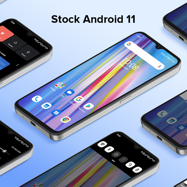 """[In Stock] UMIDIGI A11 Global Version Android 11 Smartphone Helio G25 64GB 128GB 6.53"""" HD+ 16MP Triple Camera 5150mAh Cellphone 6"""