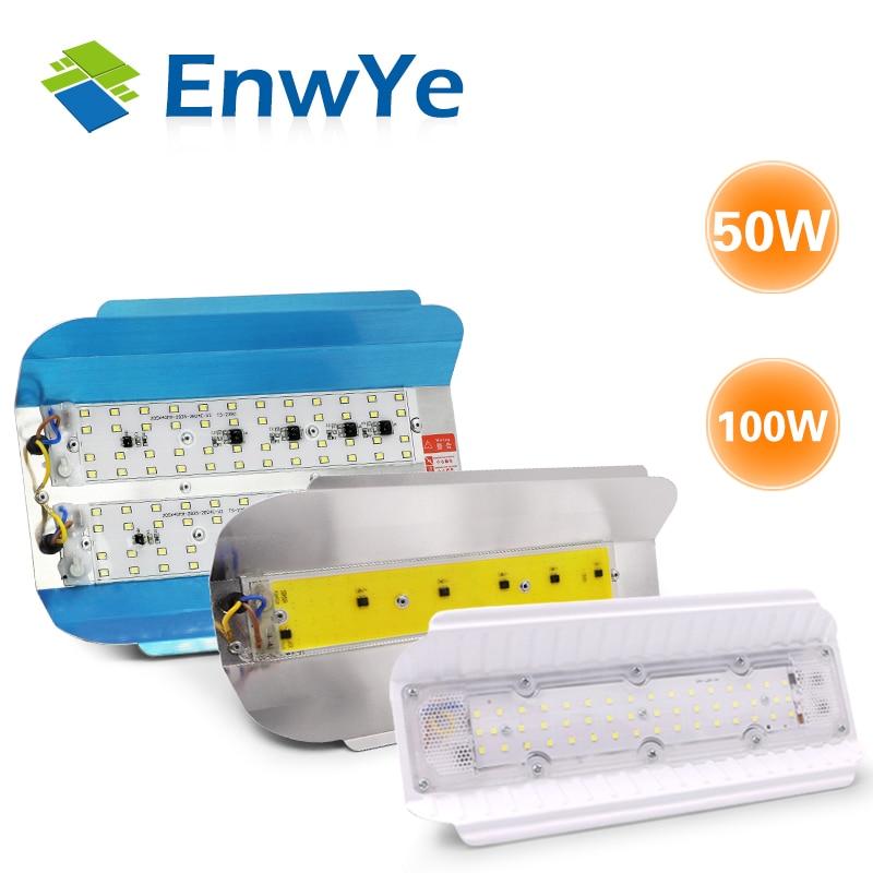 EnwYe LED lampe de tungstène d'iode 50W 100W éclairage LED AC 220V LED projecteur éclairage extérieur éclairage de chantier