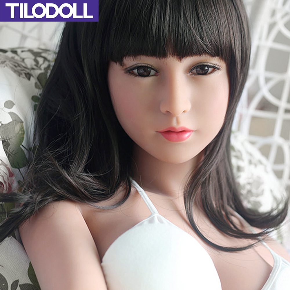 TILODOLL Mini <font><b>sex</b></font> <font><b>doll</b></font> realistic <font><b>138cm</b></font> silicone <font><b>sex</b></font> <font><b>dolls</b></font> for men sexy big ass love shop vagina pussy male adult <font><b>sex</b></font> toys image