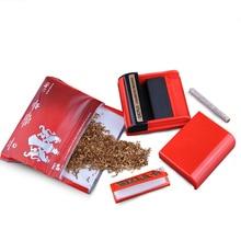 Plastic Rolling Tobacco Cigarette Paper Machine Lighter Gadgets for Men Smoke Accessories
