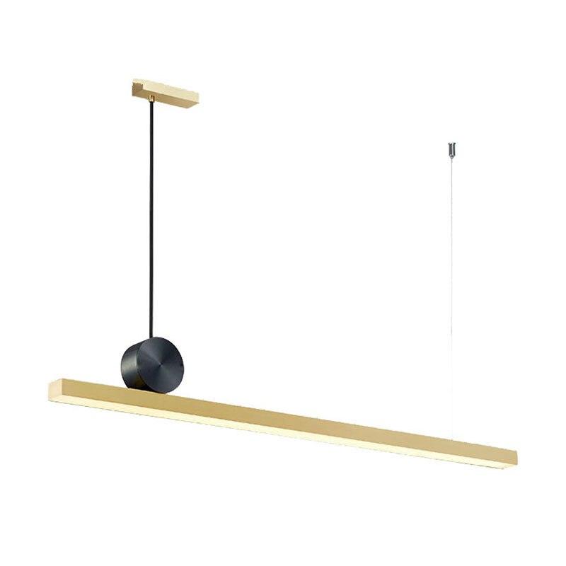 Nórdico moderno pingente de ouro luzes led fantasia geométrica metal pendurado lâmpada para restaurante sala estar quarto escritório interior deco - 6