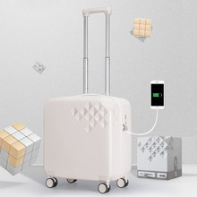 Mixi Brand Designer Suitcase USB Charging Men Women Carry On Luggage Trolley Case PC Rolling Spinner Wheels TSA Lock Free Cover(China)
