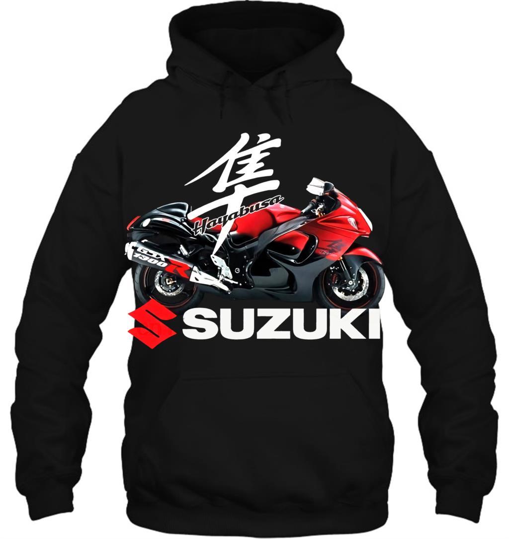 Suzuki Hayabusa Gsx1300r Unisex Round Neck Streetwear Men Women Hoodies Sweatshirts