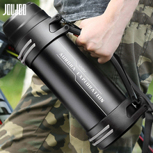 JOUDOO Large Capacity Stainless Steel Thermos Bottle Insulated Vacuum Flask Water Bottle Outdoor Double Wall Thermal Bottles 35