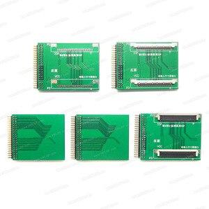Image 5 - أدوات اختبار اللوحة الأم للتلفاز TV160 6th محول Vbyone & LVDS إلى HDMI مع محول سبعة + مبرمج هدية EZP2019