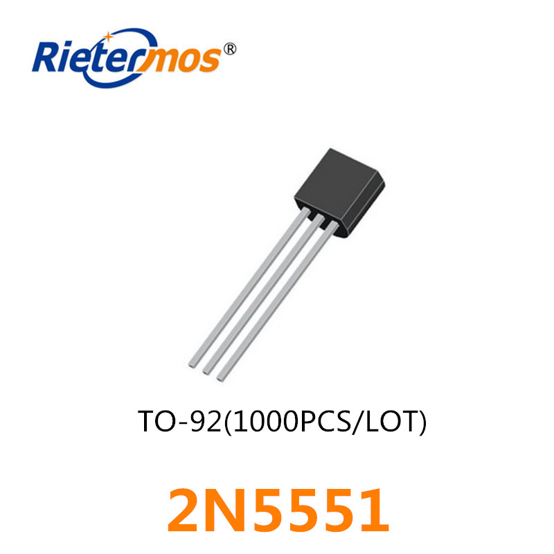 500PAIR OR 1000PCS 2N5401 2N5551 Transistor TO-92 NEW GOOD QUALITY