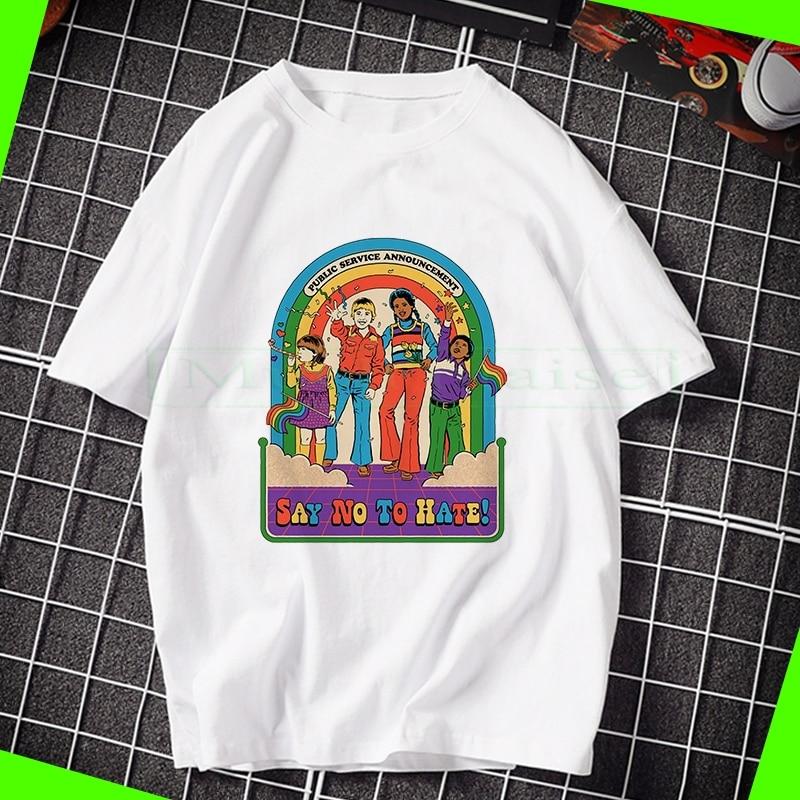 New Steven Rhodes T-shirt Steven Rhodes Shirt Retro '70s' 80s T-shirt Clothing Women's T-shirt Street Funny T-shirt