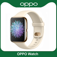 Instock oryginalny inteligentny zegarek OPPO 41mm/46mm eSIM telefon komórkowy 1.6 ''AMOLED Snapdragon 2500 i Apollo 3 VOOC Smartband 1G 8G GPS
