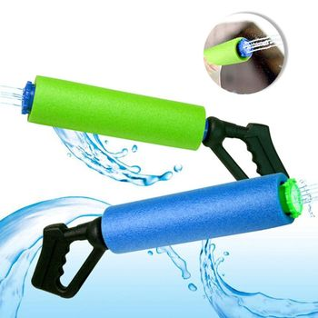 цена на New Swimming Pool Water Blaster Squirt for Kids Super Foam Soaker Toys Water Playing Pool Water Toy Cannon Interactive Parts