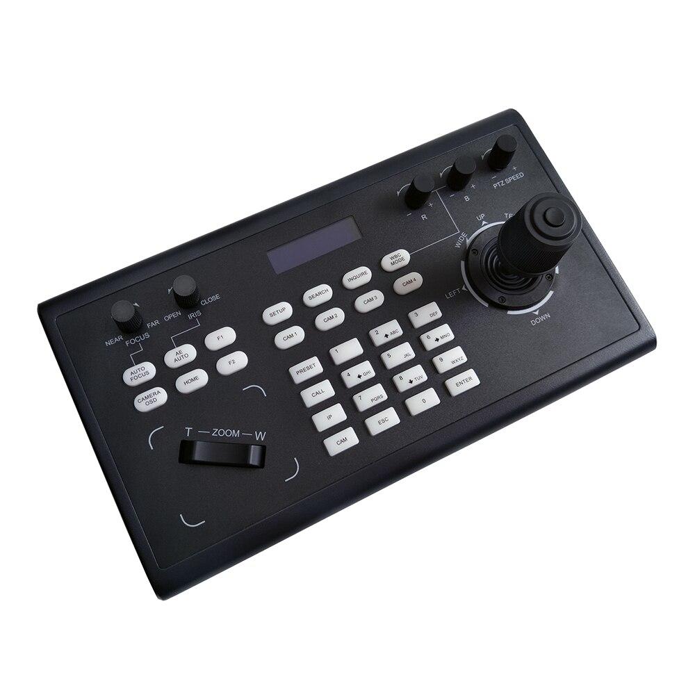 Controle da câmera do ip de hdmi sdi do controlador do joystick do ip de ptz com onvif visca-5