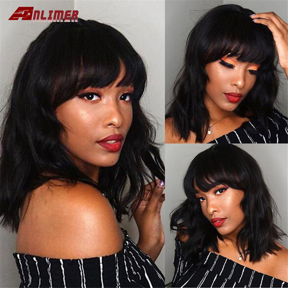 Lace Front Human Hair Wigs Wave Pre Plucked Brazilian Remy Human Hair 13*4Lace Frontal Wig For Black Women