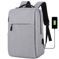 Direct selling computer bag, male business notebook pocket, large capacity backpack USB multi function schoolbag