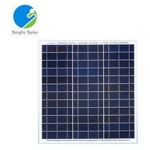High Efficiency Solar Panel 40w 240w 280w 320w 360w 400w 12v 220v Polycrystalline Battery Charger Rv Motorhomes Boat Waterproof