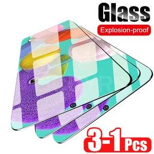 Image 5 - 3 1Pcs מגן זכוכית לסמסונג גלקסי A50 A51 A30 A20 A60 מסך מגן עבור סמסונג A40 A70 a80 A90 A10 מזג זכוכית