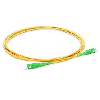 SC APC Patchcord  optical fiber Patch cord 1m to 15m PVC G657A Fiber Jumper SM FTTH Optical Cable connector - sale item Communication Equipment