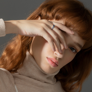 Image 5 - Thaya מקורי עיצוב s925 סטרלינג כסף ערפילית טבעות זוג אופנה טבעות לנשים אלגנטי תכשיטים