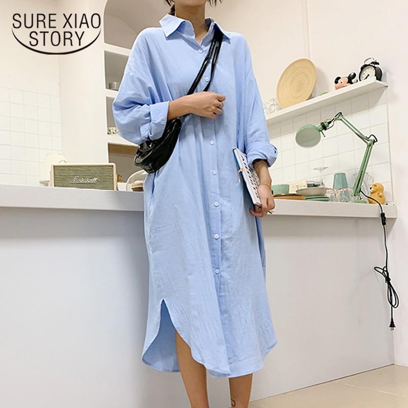 Vintage Women Shirts Blusas Roupa 2020 Spring Women Autumn Blouse Korean Long Sleeve Womens Tops and Blouses Female Tops 6658 50
