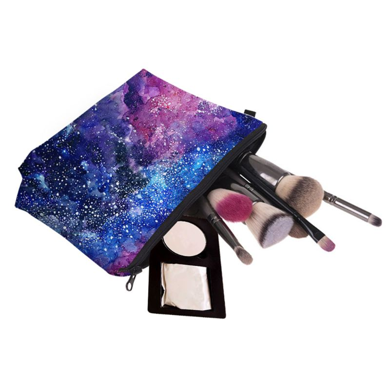 Multifunction Cosmetic Bag Makeup Case Pouch Pencil Holder Toiletry Organizer
