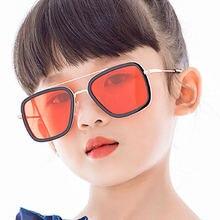 Классические солнцезащитные очки для девочек и мальчиков брендовые