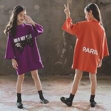Get more info on the Kids Dresses for Girls Fashion Cotton Long Sleeve Letter Print Kids Dresses Girls Costume Spring Autumn Teen Children Clothing