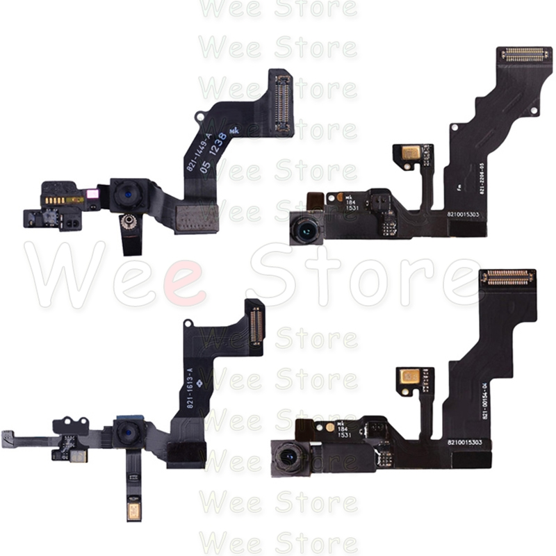 Original Small Front Camera Flex For IPhone 6 6s Plus 5 5S 5C SE Original Right Proximity Sensor Face Front Camera Flex Cable