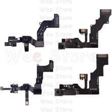 все цены на Original Small Front Camera Flex For iPhone 6 6s Plus 5 5S 5C SE Original Right Proximity Sensor Face Front Camera Flex Cable онлайн