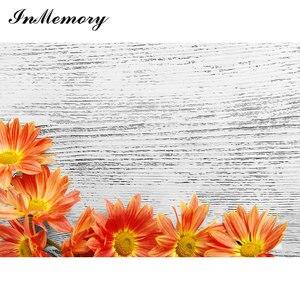 Image 5 - InMemory 87x55 drewniana płyta deski tekstura portret zdjęcie kwiatu tło Photocall Baby Shower jedzenie ciasto fotografia tło