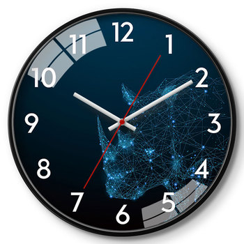 Creative Glass Wall Clock Nordic Large Wall Watch Modern Design Wall Clocks Decorative Watches Living Room Novelty Watch II50BGZ