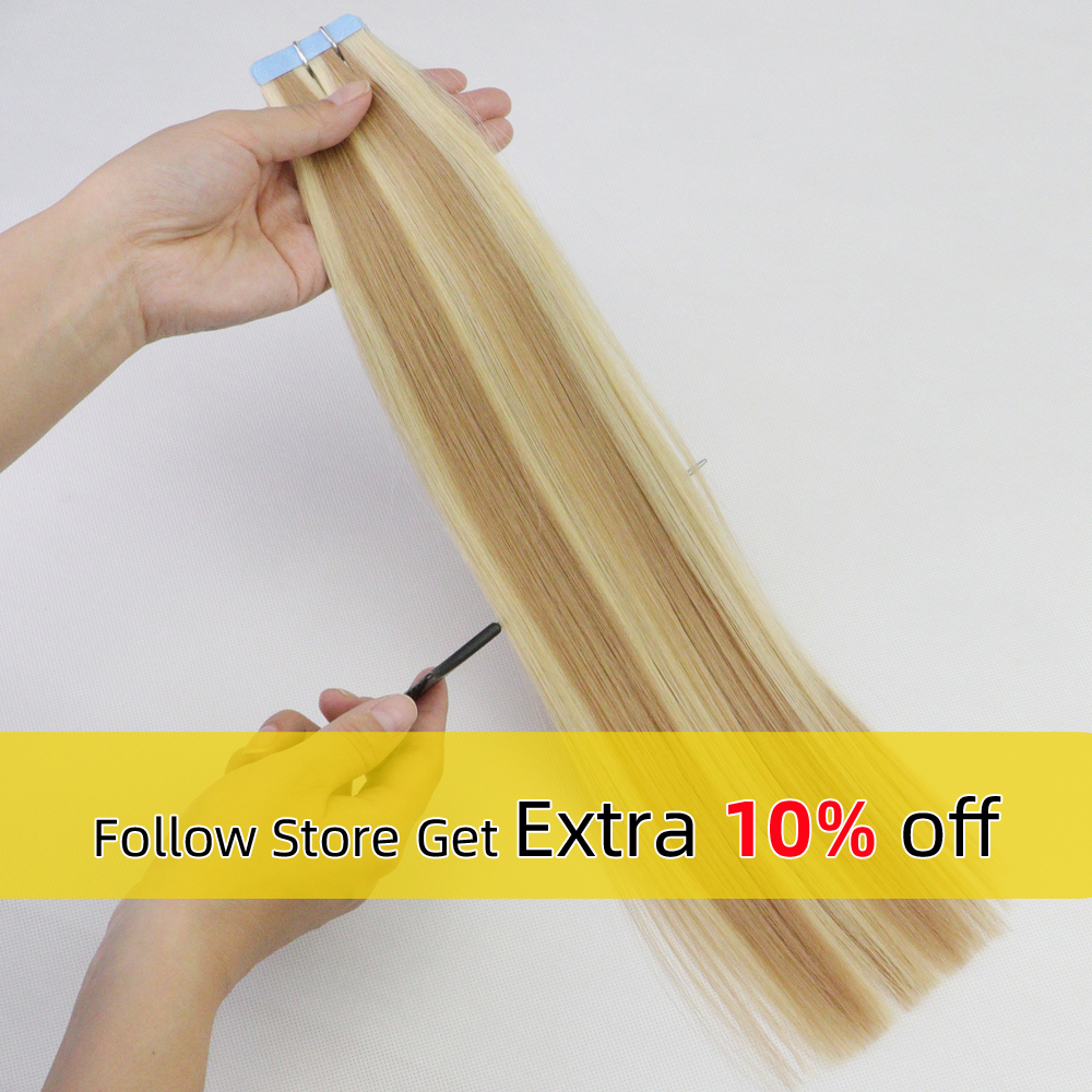 Isheeny 2.5g Human Hair Tape Extensions 14