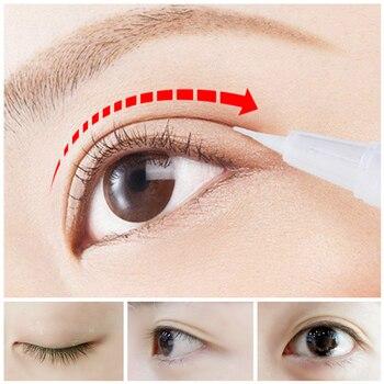 2021 Invisible Double Eyelids Glue Professional Big Eye Transparent Eyelid Super Stretch Fold Lift Eyes Styling Strong Adhesive 1