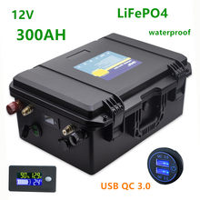 12v Lifepo4 300ah akumulator lifepo4 12V 300AH akumulator litowy 12.8v baterie bateria słoneczna 12v 300ah dla RV, falownik