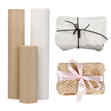Kraft Wrapping Paper Roll  Honeycomb Paper Wedding Christmas Birthday Party Wrapping Parcel  Art Craft Materials Packaging Paper
