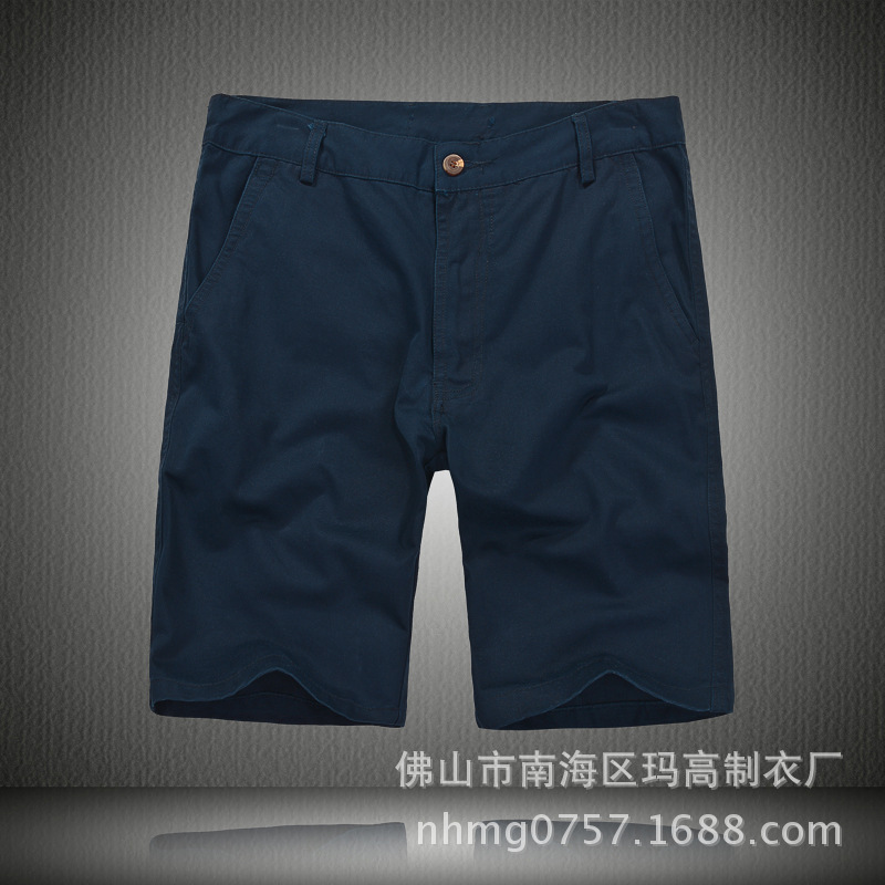 High Quality And Low Price Business Gentleman (35-Year-Old Or Above) Casual Tencel Cotton Washing Water Shorts