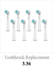 de pressão escova de dentes elétrica indutivo