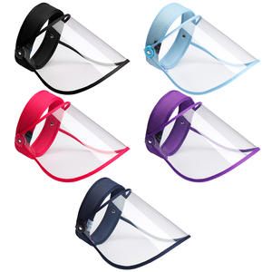 [In Stock]2020 New Clear Dustproof Flip Up Visor Full Face Shield Mask Face Covering Oil Fume Work Guards Safety Protection
