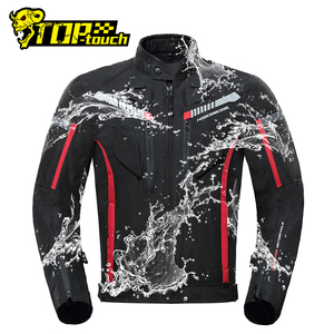 Image 1 - HEROBIKER Motorcycle Jacket Men Waterproof Moto Jacket Motorcycle Cold proof Autumn Winter Motorbike Riding Moto Jacket Black