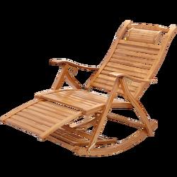 Składany fotel bujany domowy starszy fotel rozkładany fotel bujany fotel do spania odpoczynek w południe nieskrępowane krzesło bambusowy fotel Nap Cha na