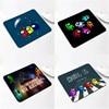 20*24CM Among us Gaming Anti-slip Mouse Pad Mini Notebook Supple Computer Mat Office Desk Mat Advertising Gift Mat 1