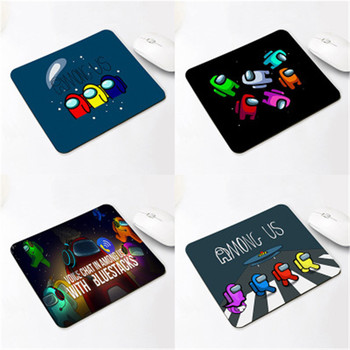 20*24CM Among us Gaming Anti-slip Mouse Pad Mini Notebook Supple Computer Mat Office Desk Mat Advertising Gift Mat 1