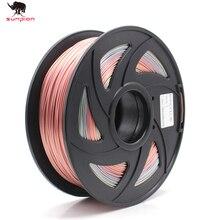 3d printer PLA Filament Rainbow color PLA Filament 3D Printer colorful PLA Spool,1.75mm Filaments 1KG 2.20LBS 1KG Roll