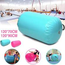 120x7 0cm/120x90cm AirTrack gonflable gymnastique gymnastique tapis d'air étage gymnastique exercice inversé colonne ronde Tumbling Mat