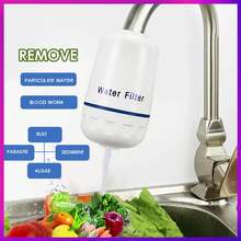 HOME Tap Water Purifier Kitchen Faucet Washable Ceramic Percolator Water Filter Filtro Rust Bacteria Removal Replacement