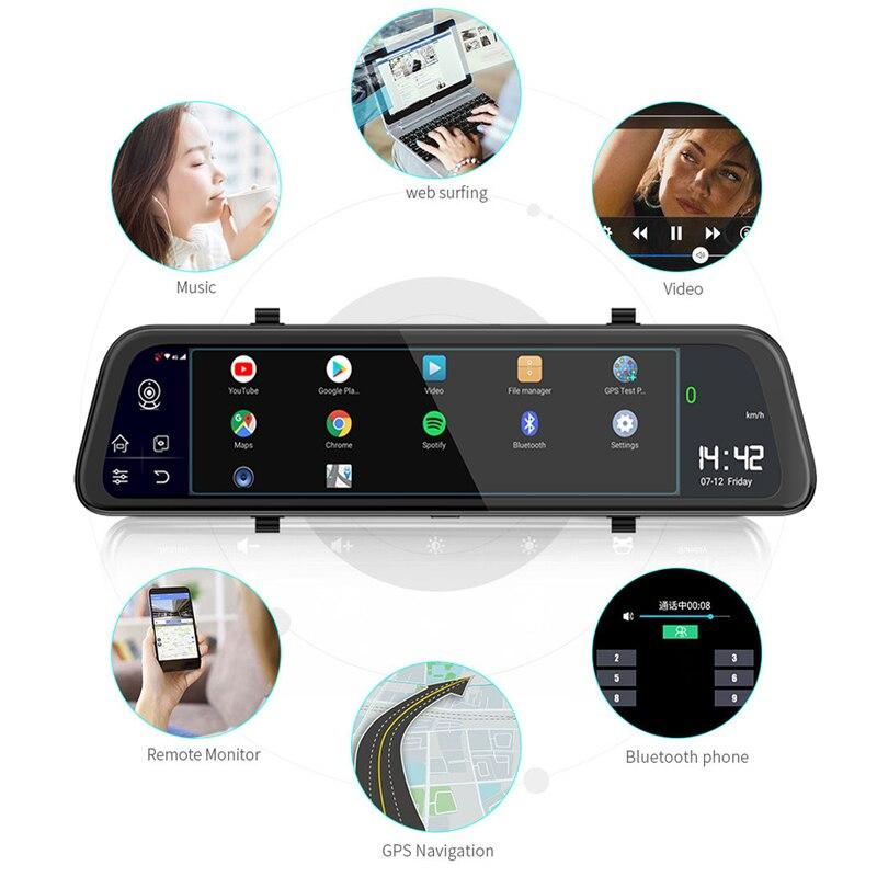 Автомобильный видеорегистратор AKASO Full HD 1080P с двойным объективом 2K Wi Fi с приложением для телефона gps двойной видео цифровой видеорегистратор... - 3