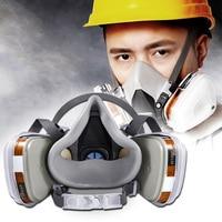 7 In 1 Halbe Gesicht Maske Anzug Durable für 6200 Gas Spray Malerei Schutz Maske DJA99-in Masken aus Sicherheit und Schutz bei