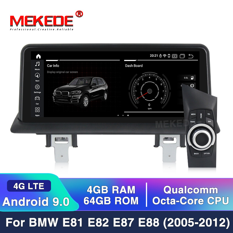 4G RAM 64G ROM Android 10 Car DVD Multimedia Player for BMW 1 Serie E81 E82 E87 E88 I20 2004-2011 Navigation AutoRadio GPS Wifi image