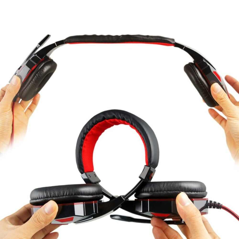 カラフルなゲームイヤホン過耳 PLEXTONE PC780 ゲームヘッドホンイヤホンとマイク USB Pc ゲーマーのための Led ライト