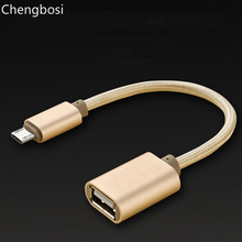 OTG Cable USB 2.0 Adapter for Android Samsung S6 Redmi Note 5 Micro USB Connector for Xiaomi Tablet Pc OTG Adapter все цены