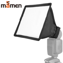 15x17cm Softbox Reflector Flash Diffuser Foldable Mini Photography Accessories Soft Box Kit Studio Light For Canon Sony Camera