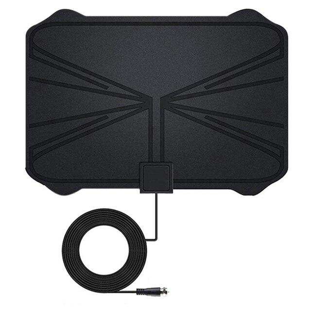 4K numérique HDTV antenne intérieure amplifiée antenne 1180 Miles gamme HD1080P DVBT2 Freeview TV